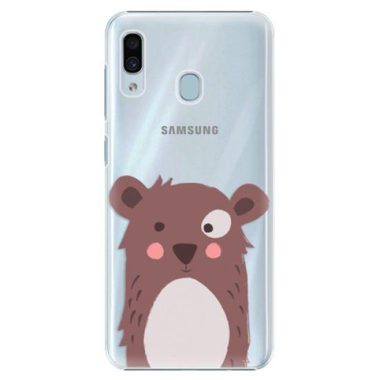 iSaprio Plastikowa obudowa - Brown Bear na Samsung Galaxy A30