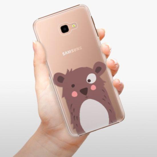 iSaprio Plastikowa obudowa - Brown Bear na Samsung Galaxy J4+