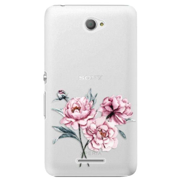 iSaprio Plastový kryt - Poeny pro Sony Xperia E4