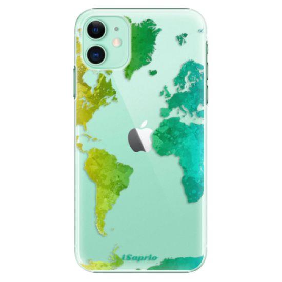 iSaprio Plastikowa obudowa - Cold Map na iPhone 11