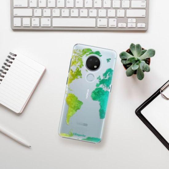 iSaprio Plastikowa obudowa - Cold Map na Nokia 6.2