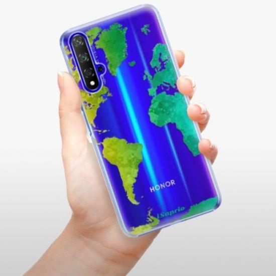 iSaprio Plastikowa obudowa - Cold Map na Huawei Honor 20