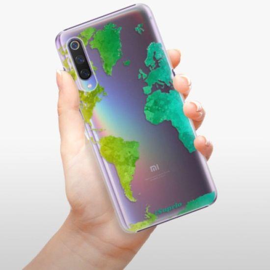 iSaprio Plastikowa obudowa - Cold Map na Xiaomi Mi 9