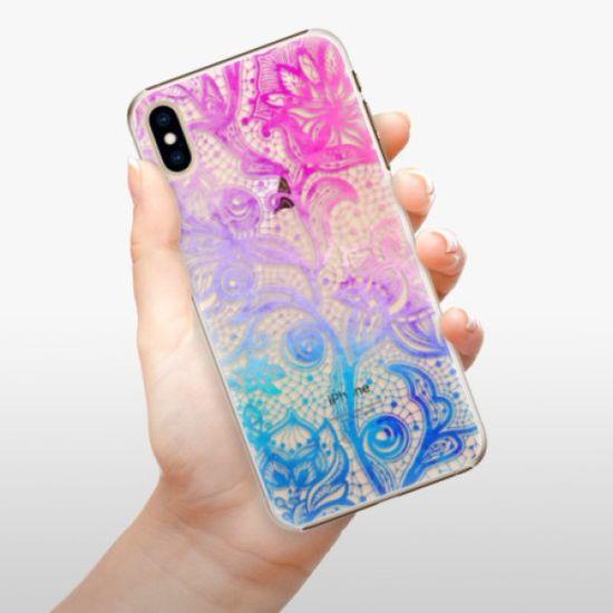 iSaprio Plastikowa obudowa - Color Lace na iPhone XS Max