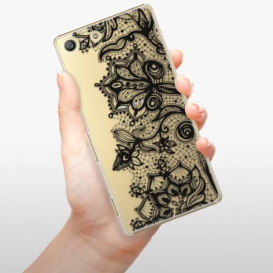 iSaprio Plastikowa obudowa - Black Lace na Sony Xperia M5