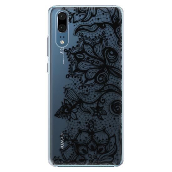 iSaprio Plastikowa obudowa - Black Lace na Huawei P20