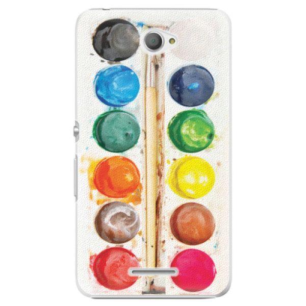 iSaprio Plastový kryt - Watercolors pro Sony Xperia E4