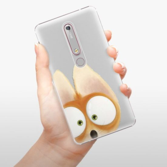 iSaprio Plastikowa obudowa - Fox 02 na Nokia 6.1