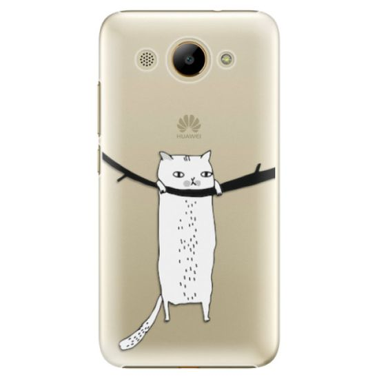 iSaprio Hang in there műanyag tok Huawei Y3 2017