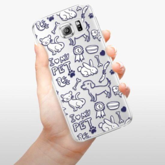 iSaprio Plastikowa obudowa - Love my pets na Samsung Galaxy S6