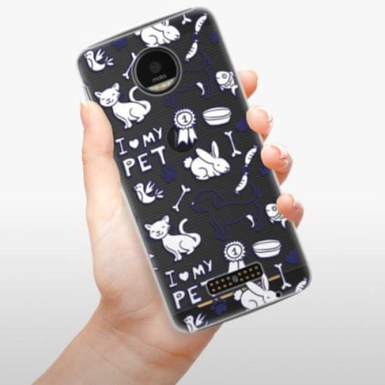 iSaprio Plastikowa obudowa - Love my pets na Lenovo Moto Z