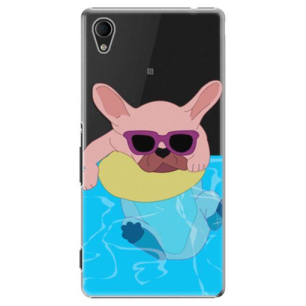 iSaprio Plastový kryt - Swimming Dog pro Sony Xperia M4 Aqua