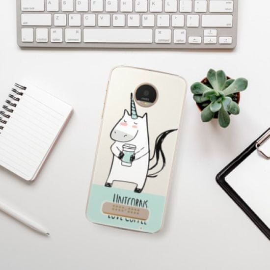 iSaprio Unicorns Love Coffee műanyag tok Lenovo Moto Z Play