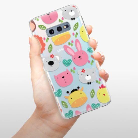 iSaprio Plastikowa obudowa - Animals 01 na Samsung Galaxy S10e