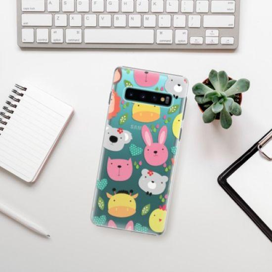 iSaprio Plastikowa obudowa - Animals 01 na Samsung Galaxy S10