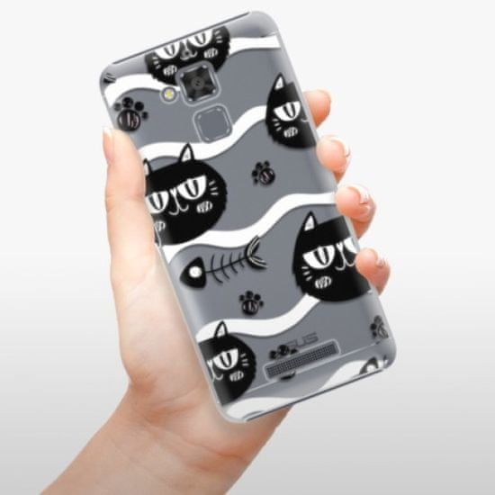 iSaprio Cat pattern 04 műanyag tok Asus ZenFone 3 Max ZC520TL