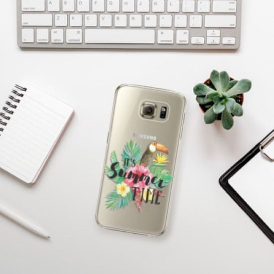 iSaprio Plastikowa obudowa - Summer Time na Samsung Galaxy S6 Edge