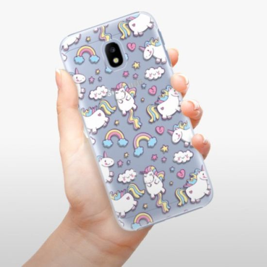 iSaprio Unicorn pattern 02 műanyag tok Samsung Galaxy J3 2017