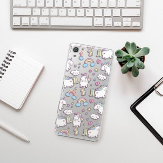 iSaprio Unicorn pattern 02 műanyag tok Sony Xperia X