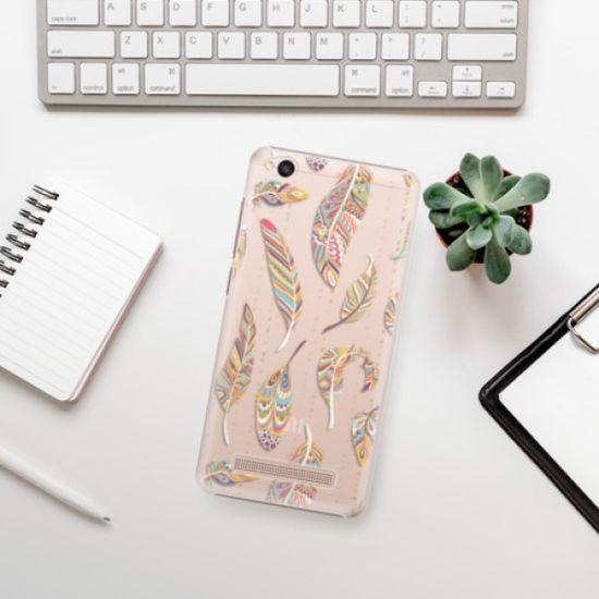 iSaprio Feather pattern 02 műanyag tok Xiaomi Redmi 4A