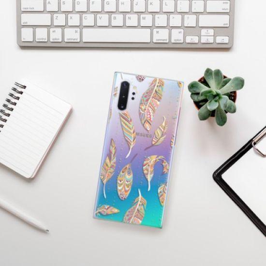 iSaprio Feather pattern 02 műanyag tok Samsung Galaxy Note 10+
