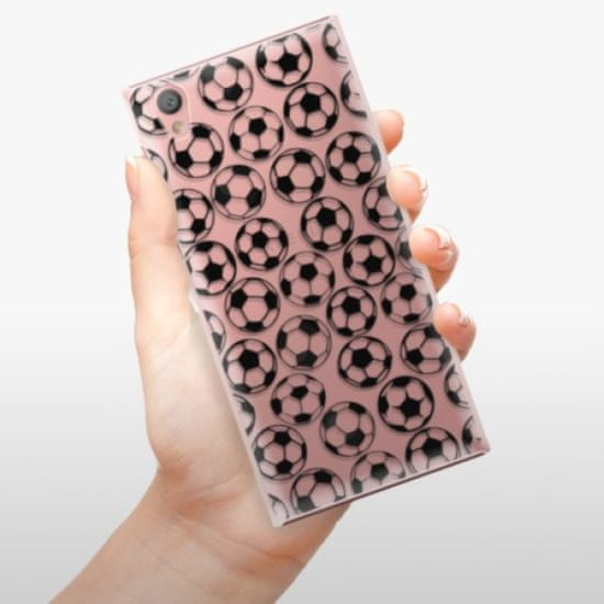 iSaprio Football pattern - black műanyag tok Sony Xperia L1