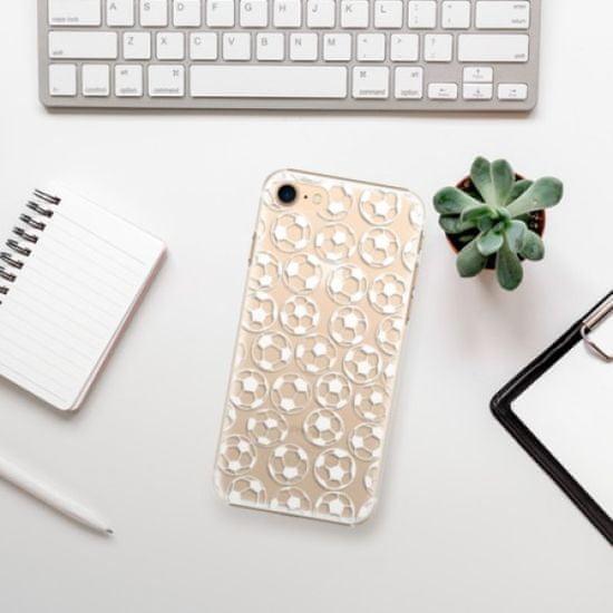 iSaprio Plastikowa obudowa - Football pattern - white na Apple iPhone 7 / 8