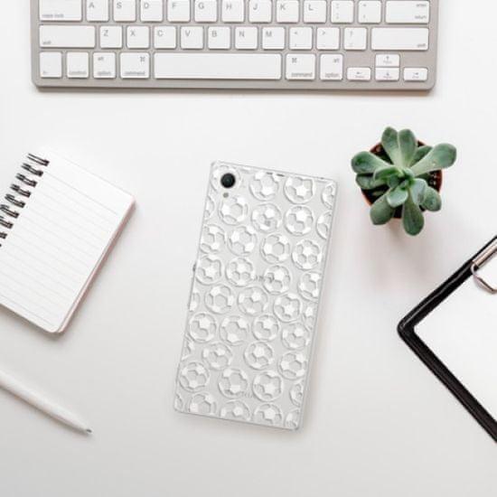 iSaprio Football pattern - white műanyag tok Sony Xperia Z1