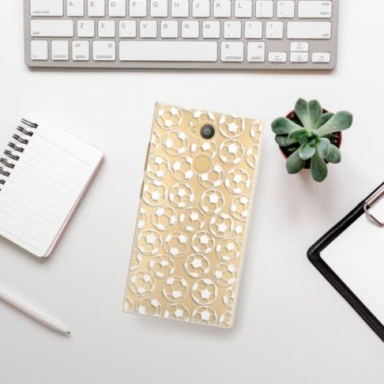 iSaprio Football pattern - white műanyag tok Sony Xperia L2