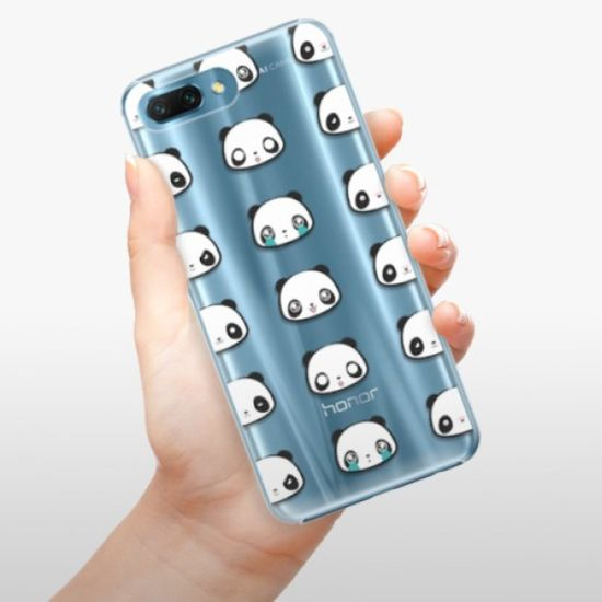 iSaprio Panda pattern 01 műanyag tok Huawei Honor 10