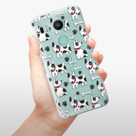 iSaprio Dog 02 műanyag tok LG Nexus 5X