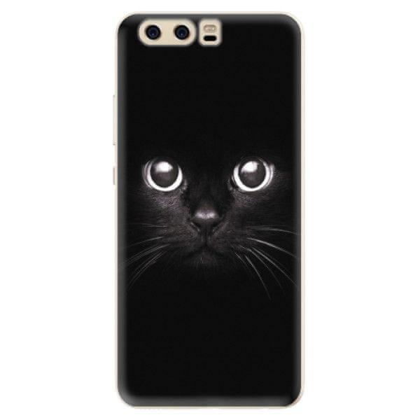 iSaprio Silikonové pouzdro - Black Cat pro Huawei P10