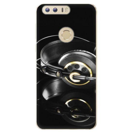 iSaprio Silikonowe etui - Headphones 02 na Honor 8