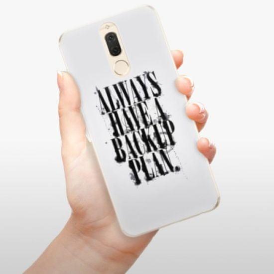iSaprio Silikonowe etui - Backup Plan na Huawei Mate 10 Lite