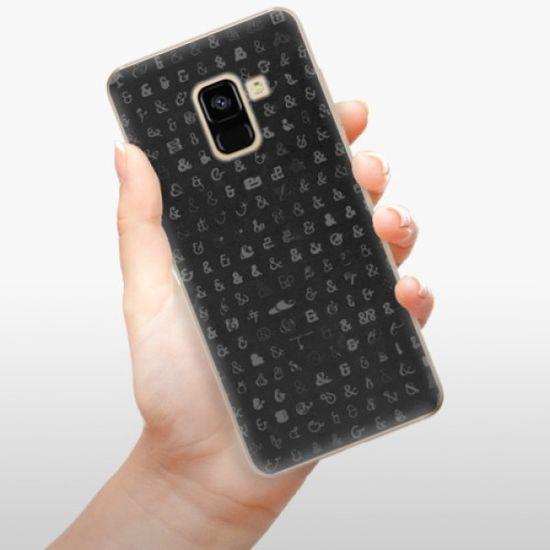 iSaprio Silikonowe etui - Ampersand 01 na Samsung Galaxy A8 2018