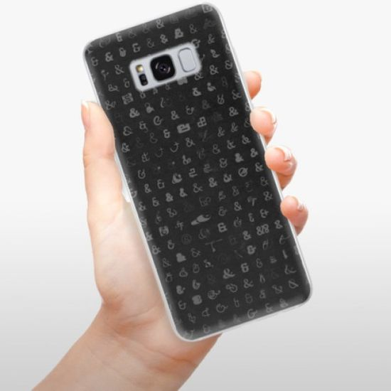 iSaprio Silikonowe etui - Ampersand 01 na Samsung Galaxy S8