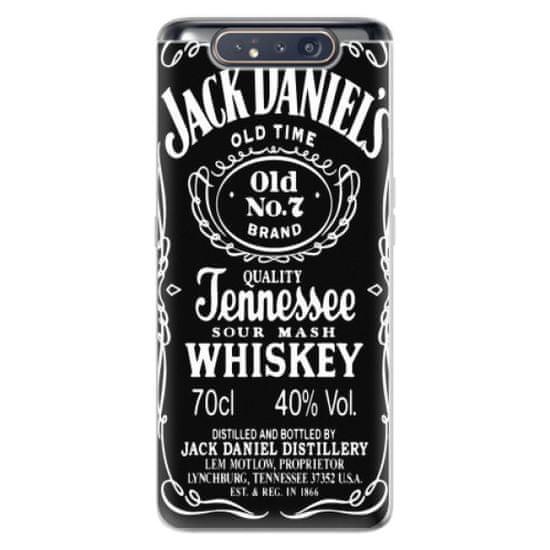 iSaprio Silikonowe etui - Jack Daniels na Samsung Galaxy A80