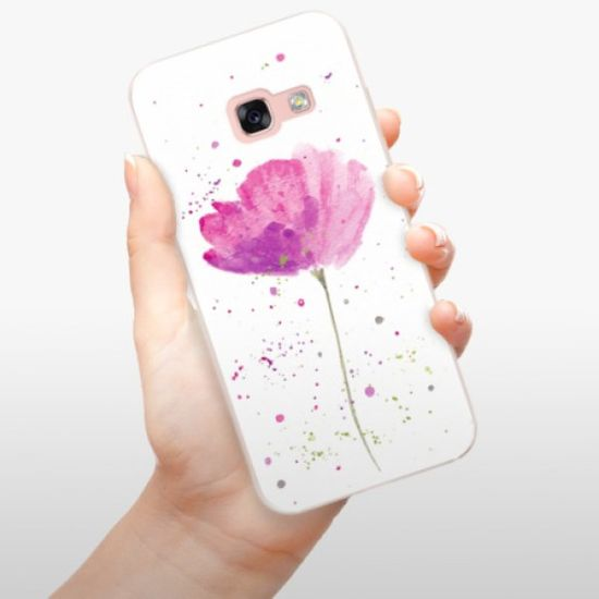 iSaprio Silikonové pouzdro - Poppies pro Samsung Galaxy A3 (2017)