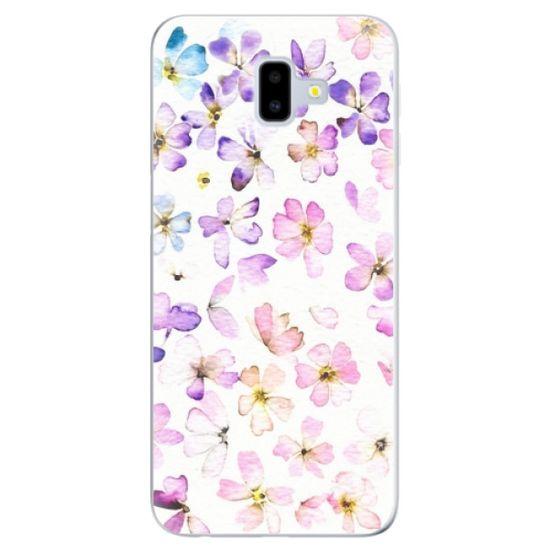 iSaprio Silikonowe etui - Wildflowers na Samsung Galaxy J6+