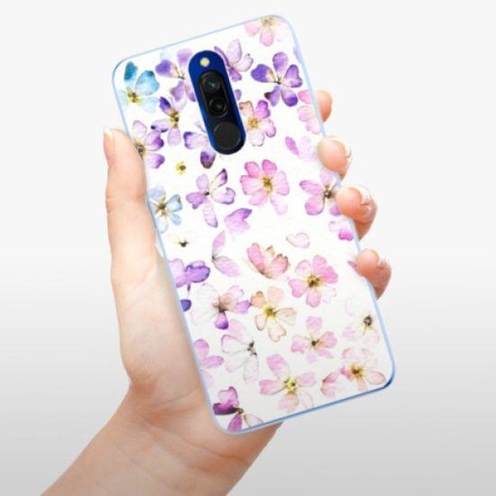 iSaprio Silikonowe etui - Wildflowers na Xiaomi Redmi 8