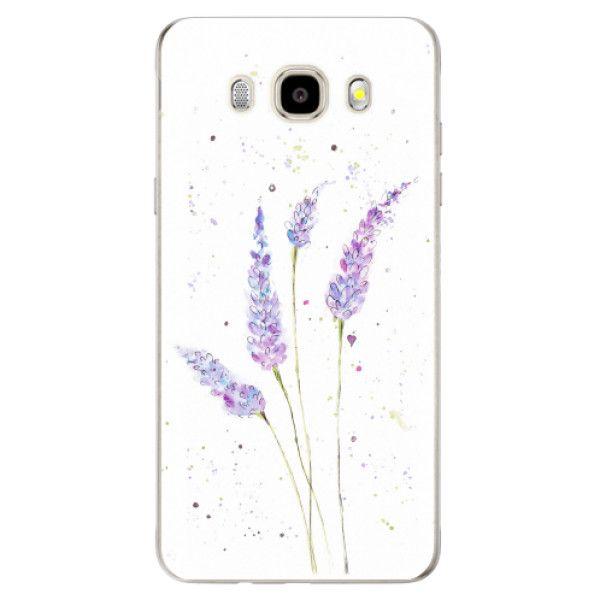 iSaprio Silikonové pouzdro - Lavender pro Samsung Galaxy J5 (2016)