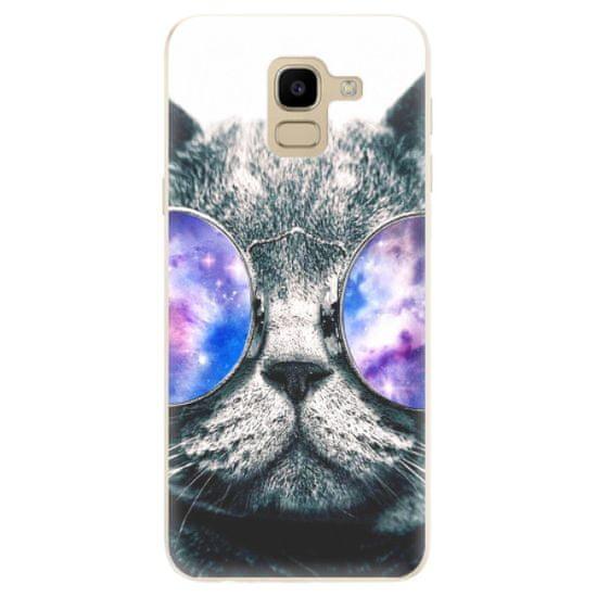 iSaprio Silikonowe etui - Galaxy Cat na Samsung Galaxy J6