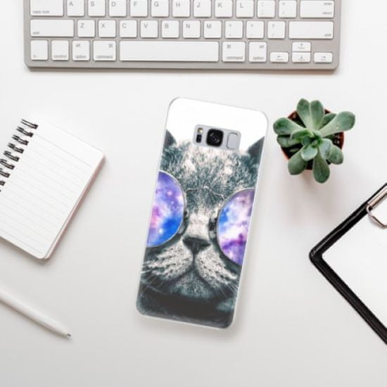 iSaprio Silikonowe etui - Galaxy Cat na Samsung Galaxy S8