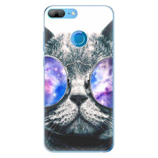 iSaprio Silikonowe etui - Galaxy Cat na Honor 9 Lite