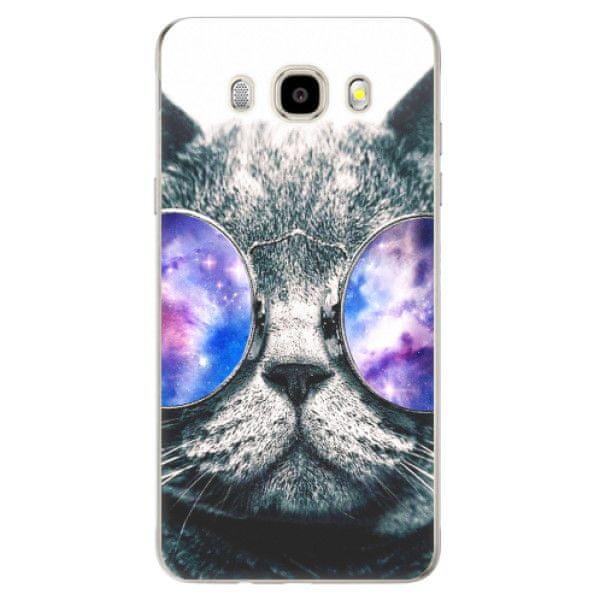 iSaprio Silikonové pouzdro - Galaxy Cat pro Samsung Galaxy J5 (2016)