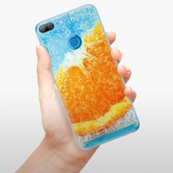 iSaprio Silikonowe etui - Orange Water na Honor 9 Lite