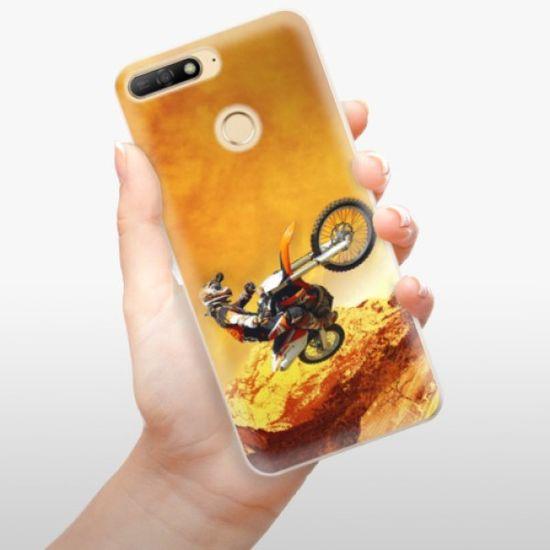 iSaprio Silikonowe etui - Motocross na Huawei Y6 Prime 2018