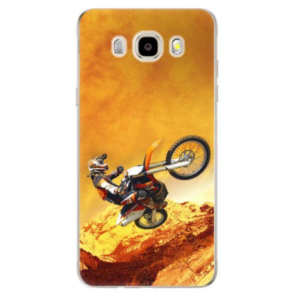 iSaprio Silikonové pouzdro - Motocross pro Samsung Galaxy J5 (2016)