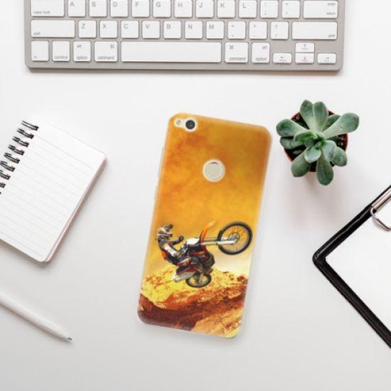 iSaprio Silikonowe etui - Motocross na Huawei P9 Lite (2017)