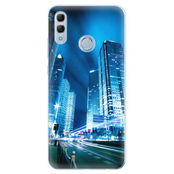 iSaprio Silikonové pouzdro - Night City Blue pro Honor 10 Lite